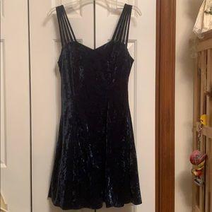 All That Jazz size M spaghetti strap velvet dress